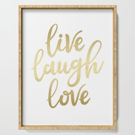 Live Laugh Love II Serving Tray