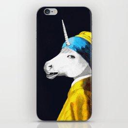 Cool Animal Art - Funny Unicorn iPhone Skin