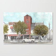 Sketching in Clovis, California Canvas Print