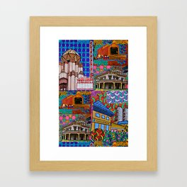 I Love Chico Bag #3 Framed Art Print