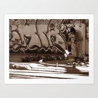 Generosity Art Print