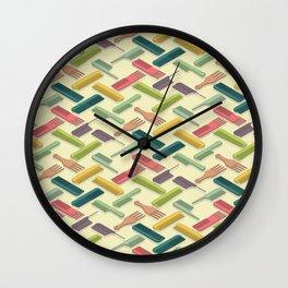 Pattern Frizz Wall Clock