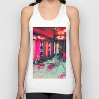 burlesque Tank Tops featuring Burlesque by The Lola is Here Store