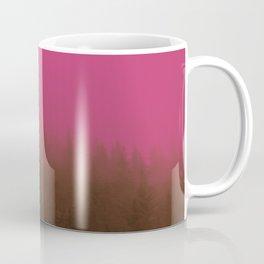 Pink & Chocolate Taffy Fog - Seward, Alaska Coffee Mug
