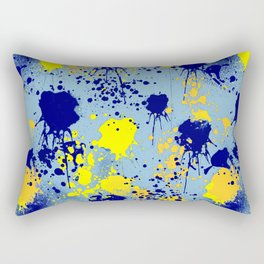 Splatter Testing Rectangular Pillow