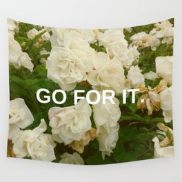 Go For It Wall Tapestry