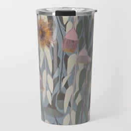 Flowering eucalyptus, australian flora Travel Mug