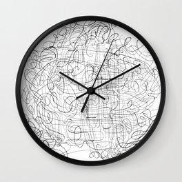 Convoloodle 1.15 Wall Clock