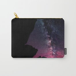 Milky Way Rock Fuchsia Purple Teal Carry-All Pouch