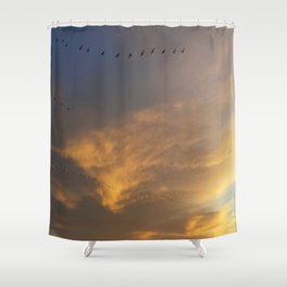 Stay Fly  Shower Curtain
