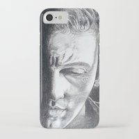 springsteen iPhone & iPod Cases featuring Brilliant Disguise - Springsteen by Roisin Mallon