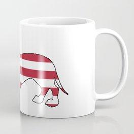 """Dachshund """"American Flag"""" Coffee Mug"""