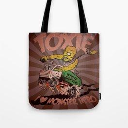 I (HEART) MONSTER HERO Tote Bag