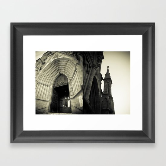 Architectural Photography - Luján, Buenos Aires (1) Framed Art Print