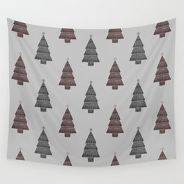 ornamental! red sm. Wall Tapestry