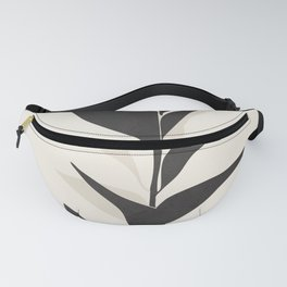 Abstract Minimal Plant Fanny Pack