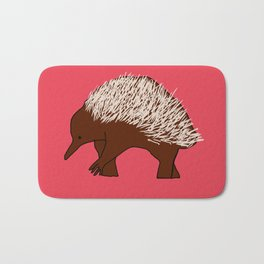 The Short-Beaked Echidna Bath Mat