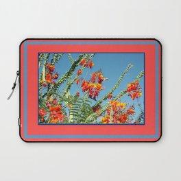 Ocotillo Blooms Laptop Sleeve