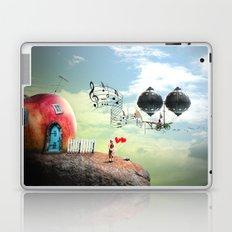 The Music Traveler Laptop & iPad Skin