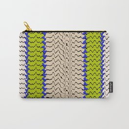Abstract Waves III Carry-All Pouch
