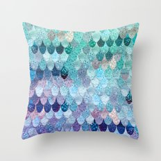 SUMMER MERMAID II Throw Pillow