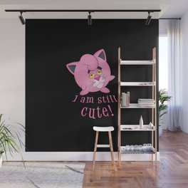 pink panther in jigglypuff  Wall Mural