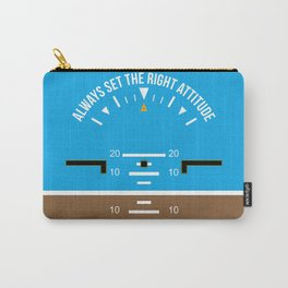 Right Attitude Carry-All Pouch