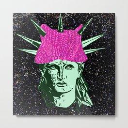 the Lady Liberty Metal Print