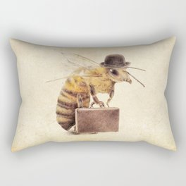Worker Bee Rectangular Pillow