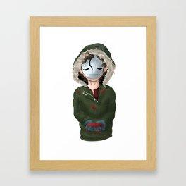 Until Dawn Cry Framed Art Print