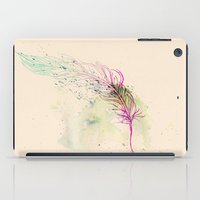 breathe iPad Cases featuring Breathe  by rskinner1122