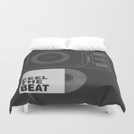 FEEL THE BEAT Duvet Cover
