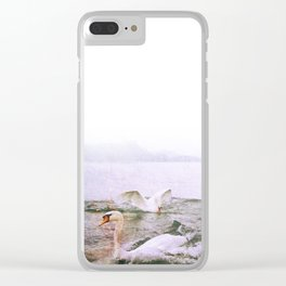 t(w)ogether in the lake Clear iPhone Case