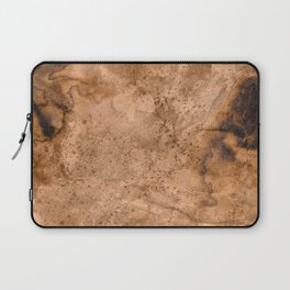 Acrylic Coffee Stained Paper Laptop Sleeve