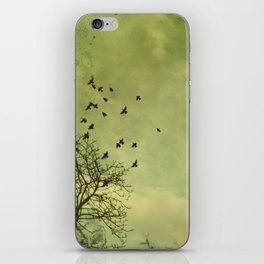 Sayonara. iPhone Skin