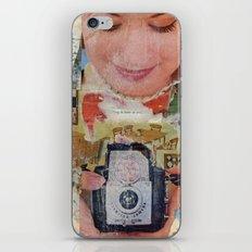 Madonna with Camera iPhone & iPod Skin