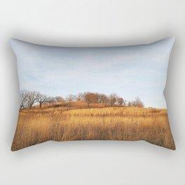 Golden Autumn Savanna Rectangular Pillow
