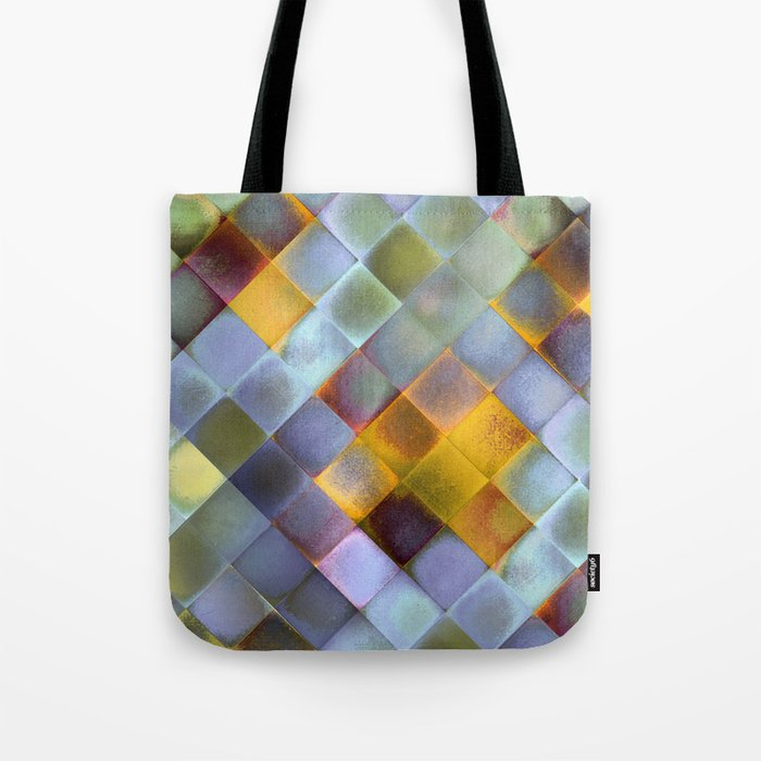 CHECKED DESIGN II-v10 Tote Bag