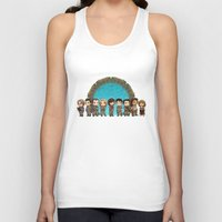stargate Tank Tops featuring Cast of Stargate Atlantis by Ravenno
