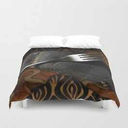 Fork and Stone Duvet Cover