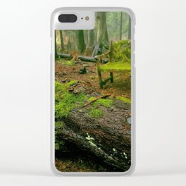 Enchanting forest Clear iPhone Case