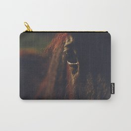 Horse photography, high quality, nature landscape fine art print Carry-All Pouch
