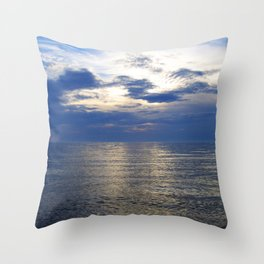 South Haven Sunset Throw Pillow
