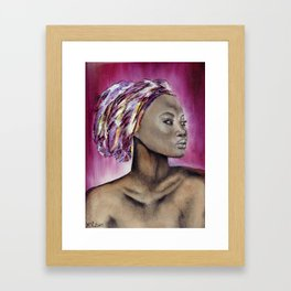330. Zoya Framed Art Print