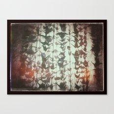 Paper cranes take flight Canvas Print