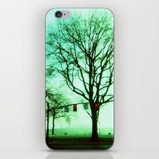 Green Fog iPhone & iPod Skin