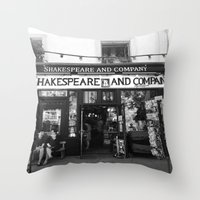 shakespeare Throw Pillows featuring Shakespeare Love by MarianaManina