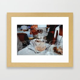 Rosé All Day Framed Art Print