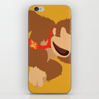 donkey kong iPhone & iPod Skins featuring Donkey Kong(Smash) by ejgomez