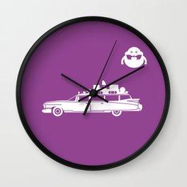 Ecto-1 Ghostbusters car Wall Clock